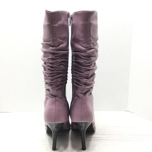 Chinese Laundry Shoes - CHINESE LAUNDRY   Stella Mid Calf Ruched Boot - 7